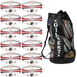 Centurion Nemesis Match Rugby Ball 12 Pack