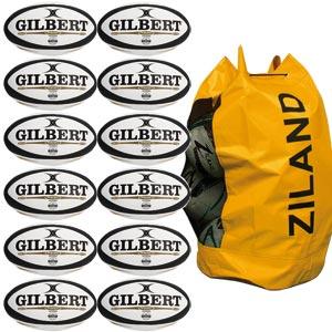 Gilbert Revolution X Match Rugby Ball 12 Pack