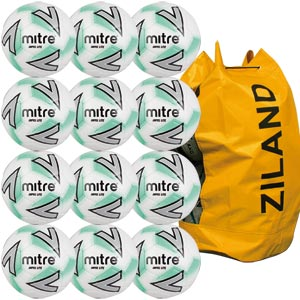 Mitre Impel Lite Training Football 12 Pack