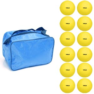Apollo PU Mini Lacrosse Ball 12 Pack