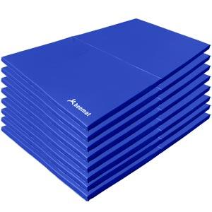 Beemat School Gymnastic Mat Lightweight 2m x 1m 8 Pack