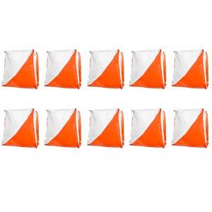 Orienteering Flag Marker 15cm 10 Pack