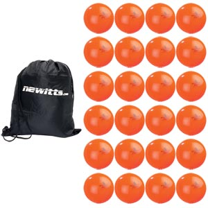 Readers Cricket Windball 24 Pack Orange