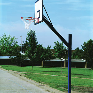 Harrod Sport Adjustable Cantilever Basketball Goals Set