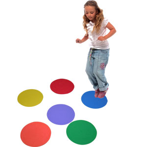 PLAYM8 Sequencing Marking Spots 6 Pack 25cm
