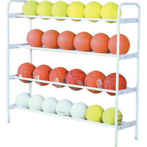 Harrod UK Ball Storage Shelf Unit