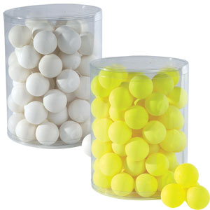 Stiga Coloured Table Tennis Balls 72 Pack