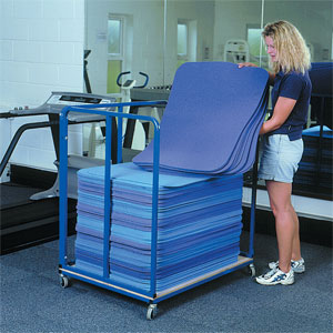 Harrod UK Aerobic Mat Trolley