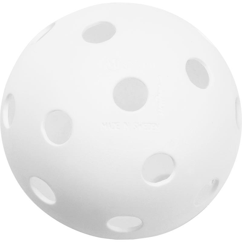 Unihoc Floorball Perforated Ball White