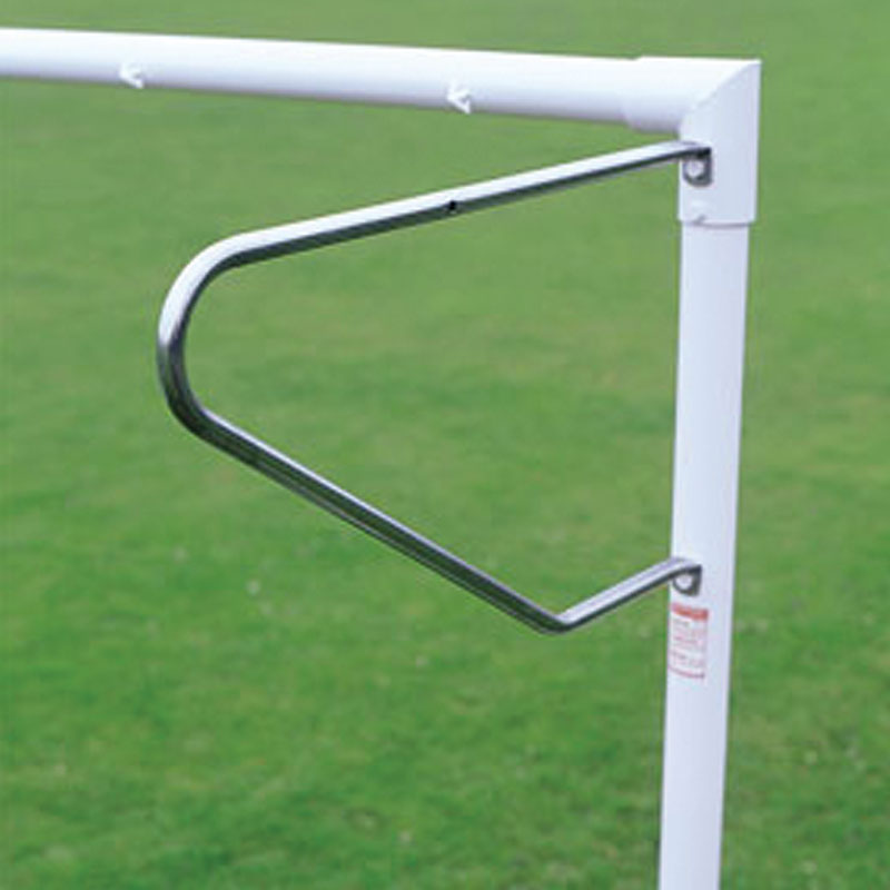 Harrod Sport 24ft x 8ft Socketed Heavyweight Steel Football Posts