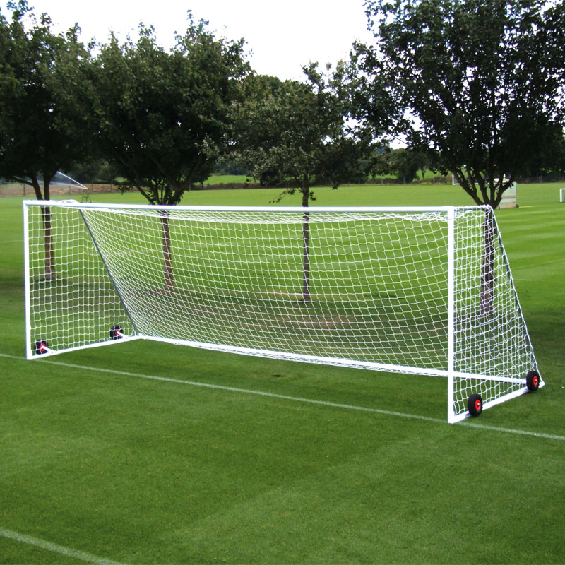Harrod Sport 24ft x 8ft Freestanding Heavyweight Steel Football Posts