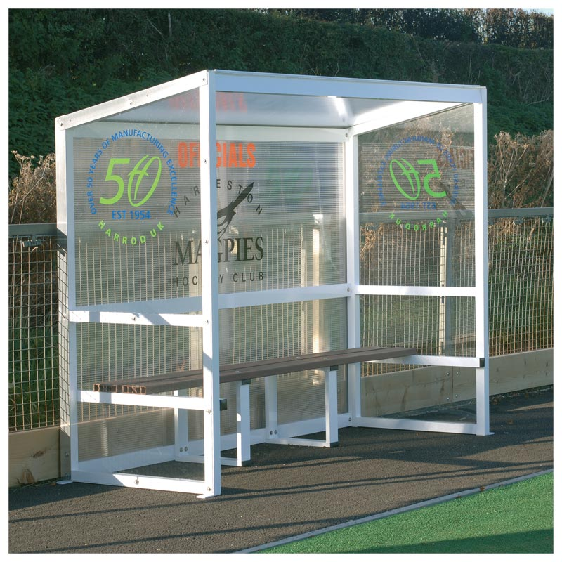 Harrod Sport Freestanding Aluminium Team Shelter
