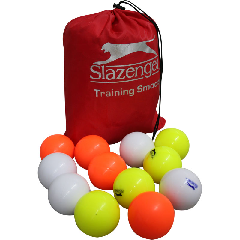 Slazenger Training Smooth Hockey Ball 12 Pack