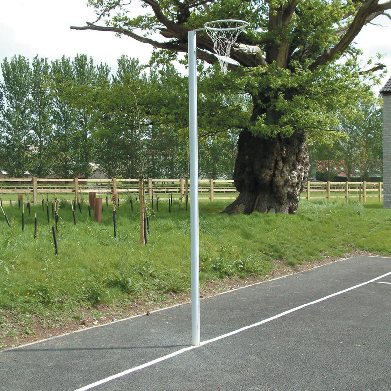 Harrod Sport Socketed International Netball Posts