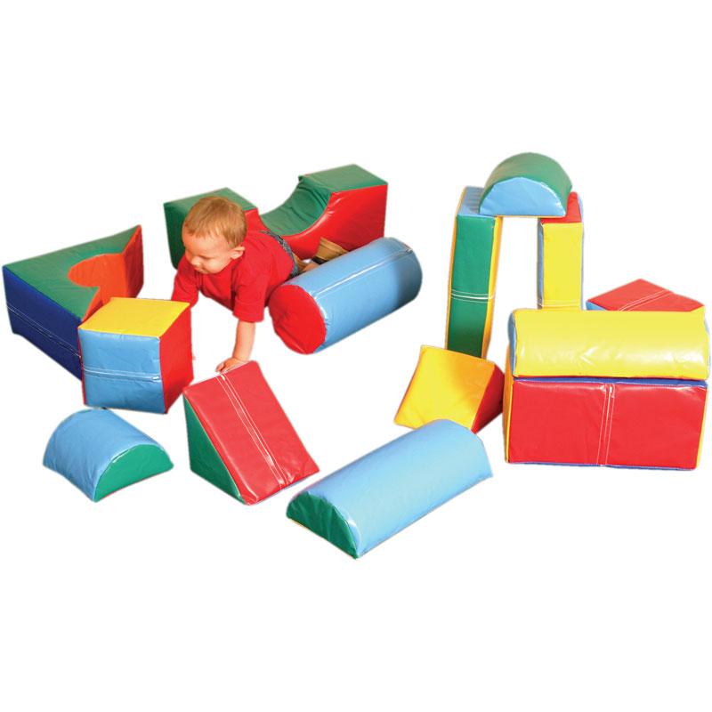 PLAYM8 Zoftplay 14 Piece Soft Play Set