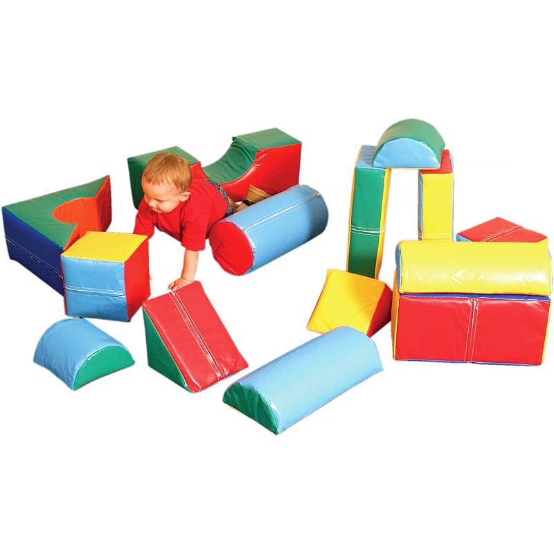 PLAYM8 Softplay 14 Piece Soft Play Set