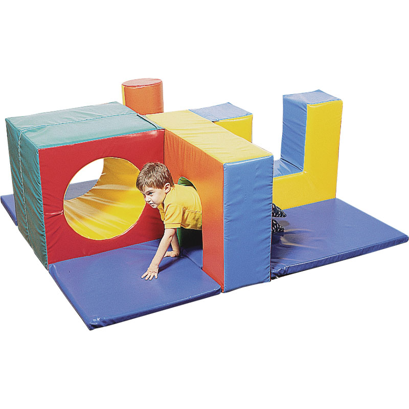 Playm8 zoftplay 9 piece soft play unit for Play unit