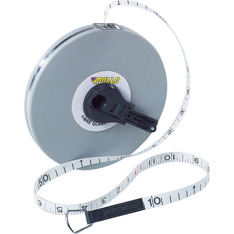Apollo Closed Reel Measuring Tape