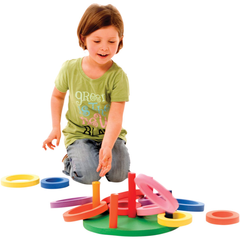 PLAYM8 Foam Ring Toss 14 Pack