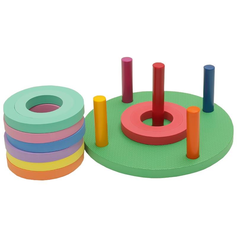 PLAYM8 Foam Ring Toss 14 Pack