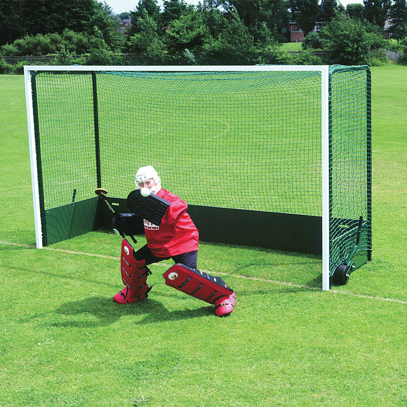 Harrod Sport Steel Folding Wheelaway Hockey Goal Posts