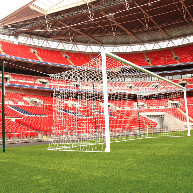Harrod Sport 3G Socketed Stadium Football Posts 24ft x 8ft