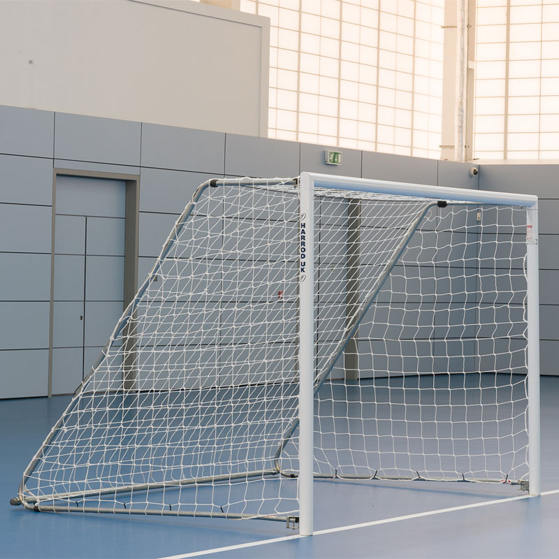 Harrod Sport Freestanding Aluminium Football Posts 10ft x 7ft