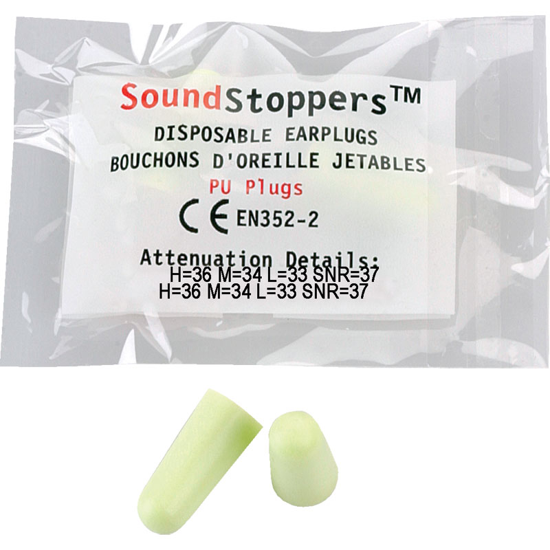 Sound Stoppers Safety Ear Plugs