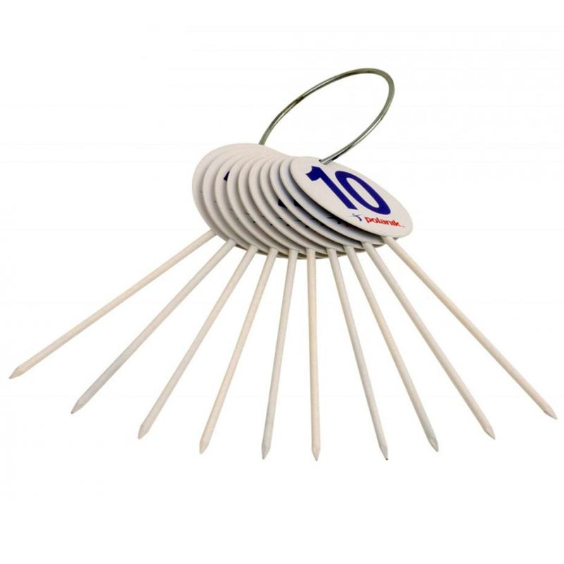 Polanik Field Markers Spiked 10 Pack