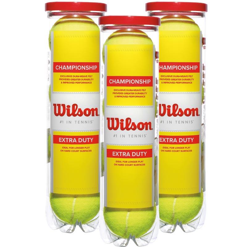 Wilson Championship Extra Duty Tennis Ball 12 Pack