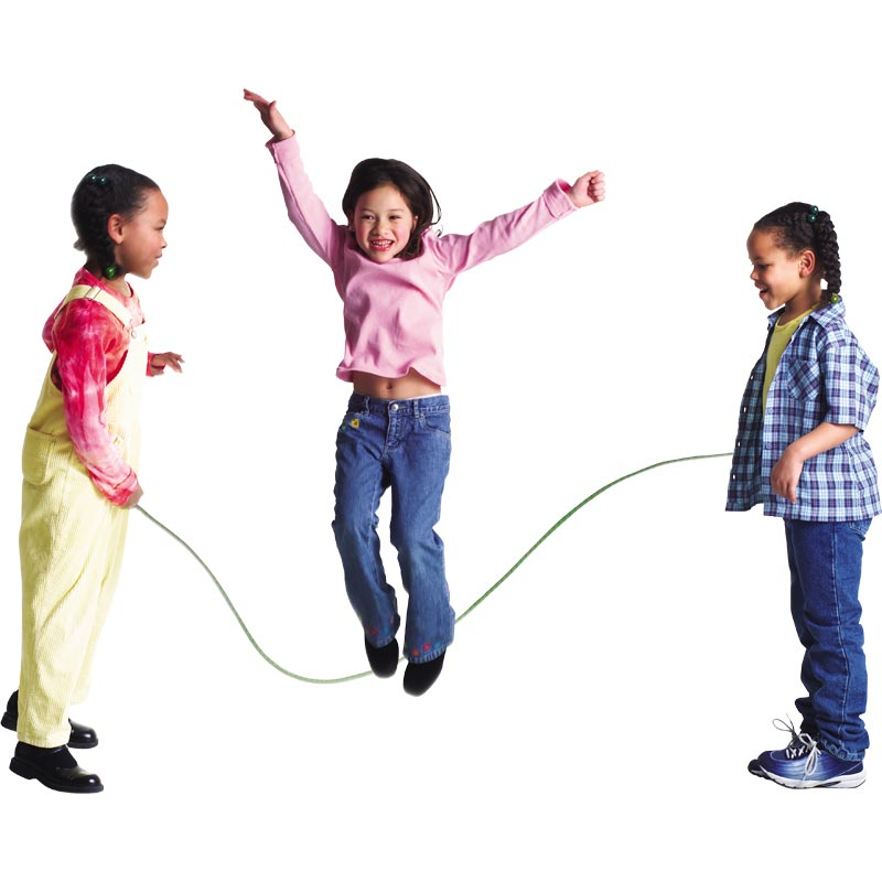 PLAYM8 Plastic Skipping Rope 6 Pack 2m