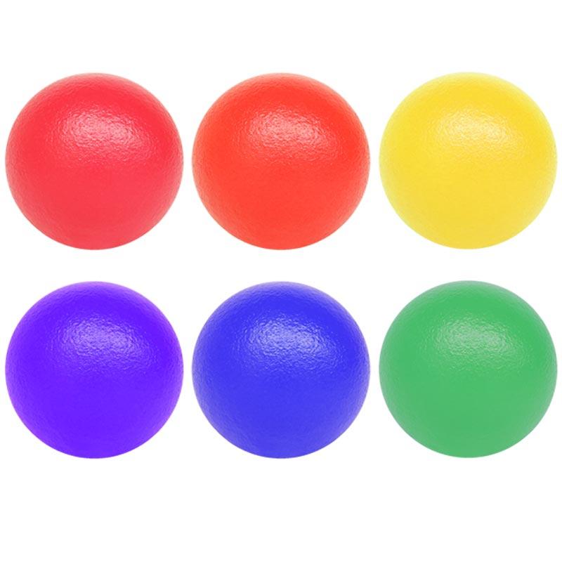 PLAYM8 Coated Foam Ball 6 Pack