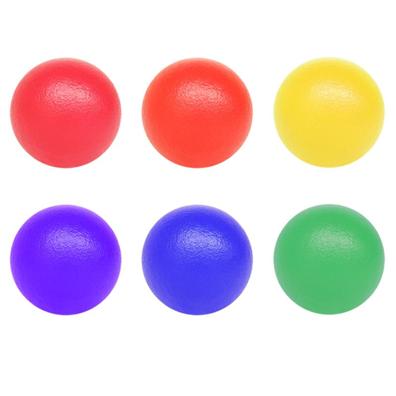 PLAYM8 Coated Foam Ball 6 Pack
