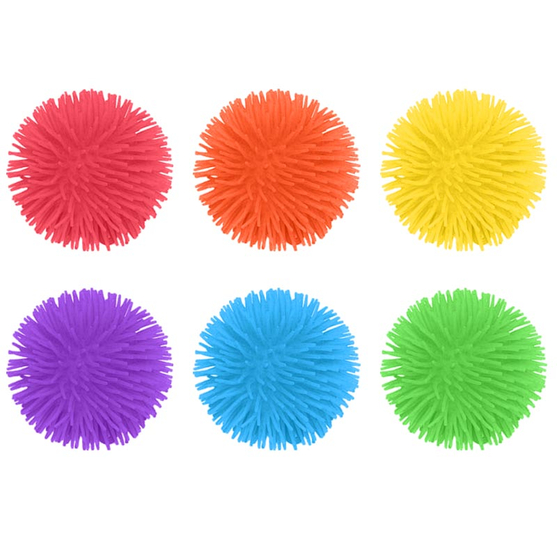 PLAYM8 Small Urchin Ball 6 Pack 9cm