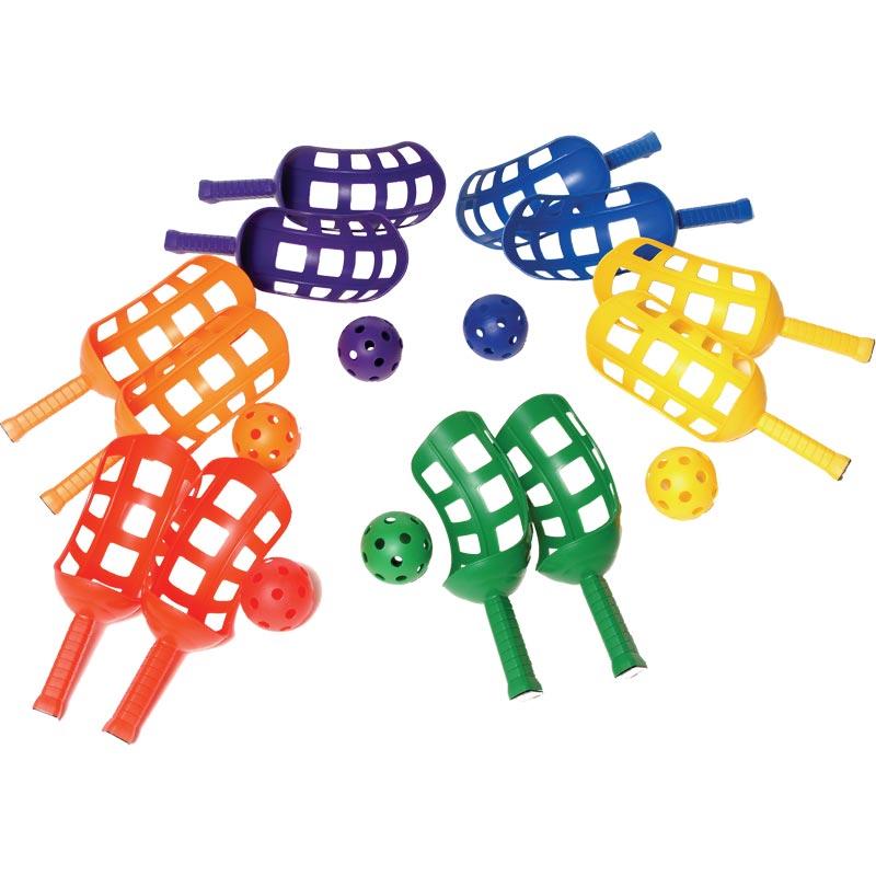 PLAYM8 Scoop Racket 6 Pack