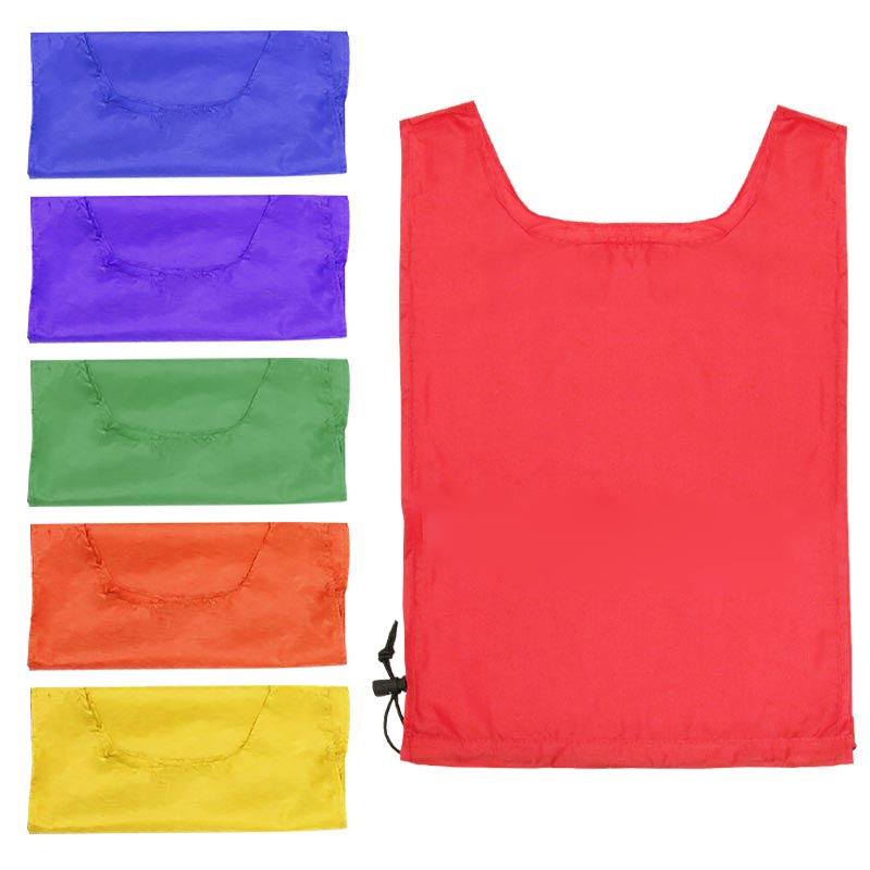PLAYM8 Nylon Bibs 6 Pack