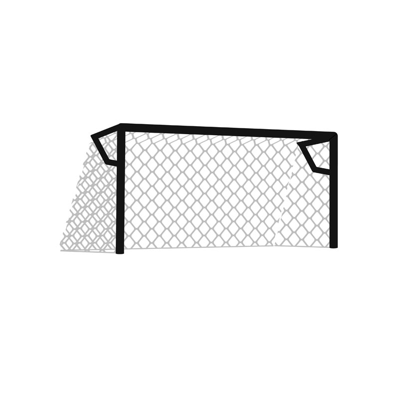 Harrod Sport 3G Socketed Stadium Club Football Post Nets 24ft x 8ft