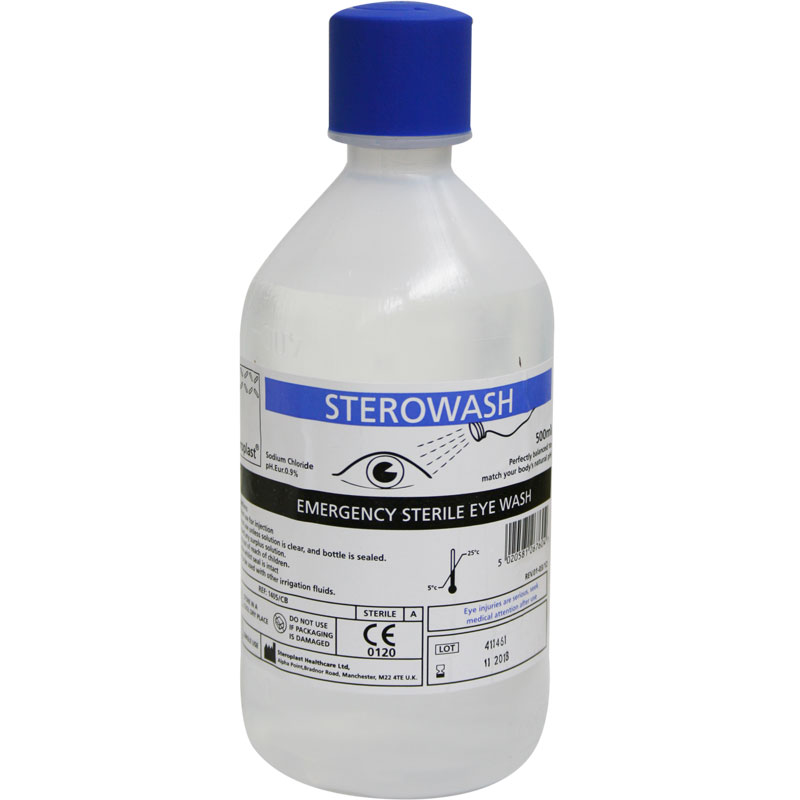 Emergency Eyewash 500ml Bottle
