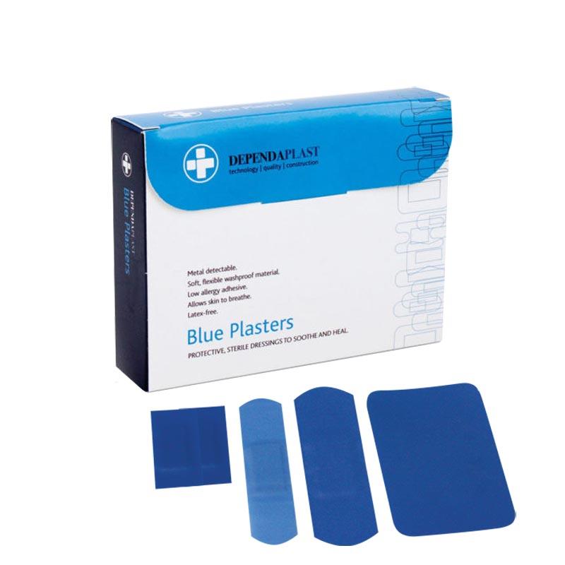 Koolpak Washproof Blue Plasters