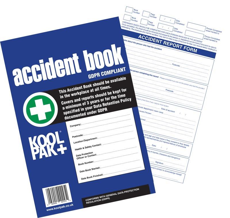 Koolpak Accident Book