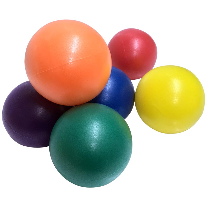 PLAYM8 Soft Touch Ball 6 Pack 20cm