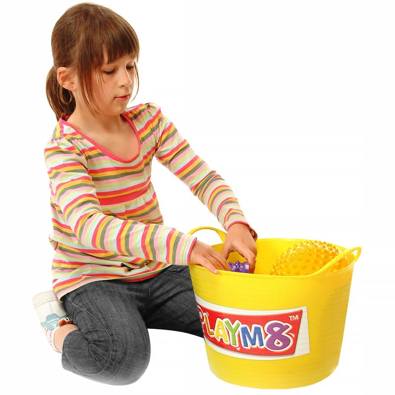 PLAYM8 Storage Tubs 6 Pack