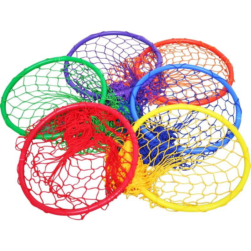 PLAYM8 Hoop Net 6 Pack 45cm