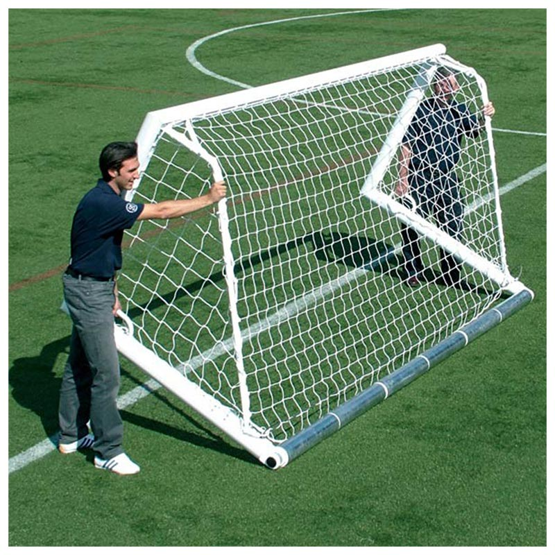 Harrod Sport 3G Integral Weighted Football Portagoals 12ft x 6ft