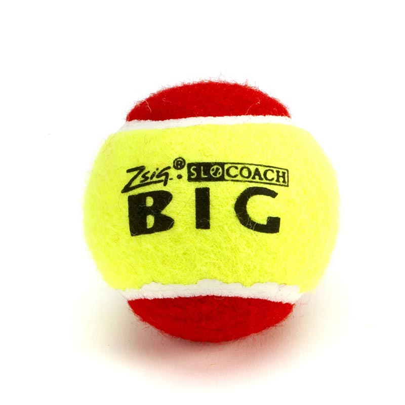 Zsig SLOcoach Big Red Mini Tennis Ball 12 Pack