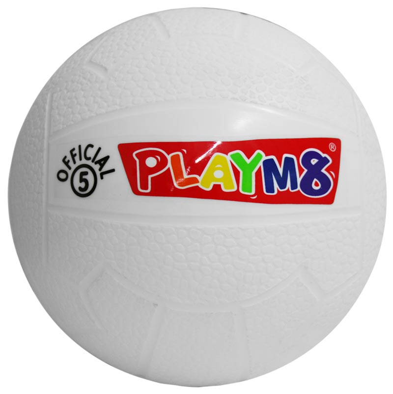 PLAYM8 Official 5 Plastic Football 20cm