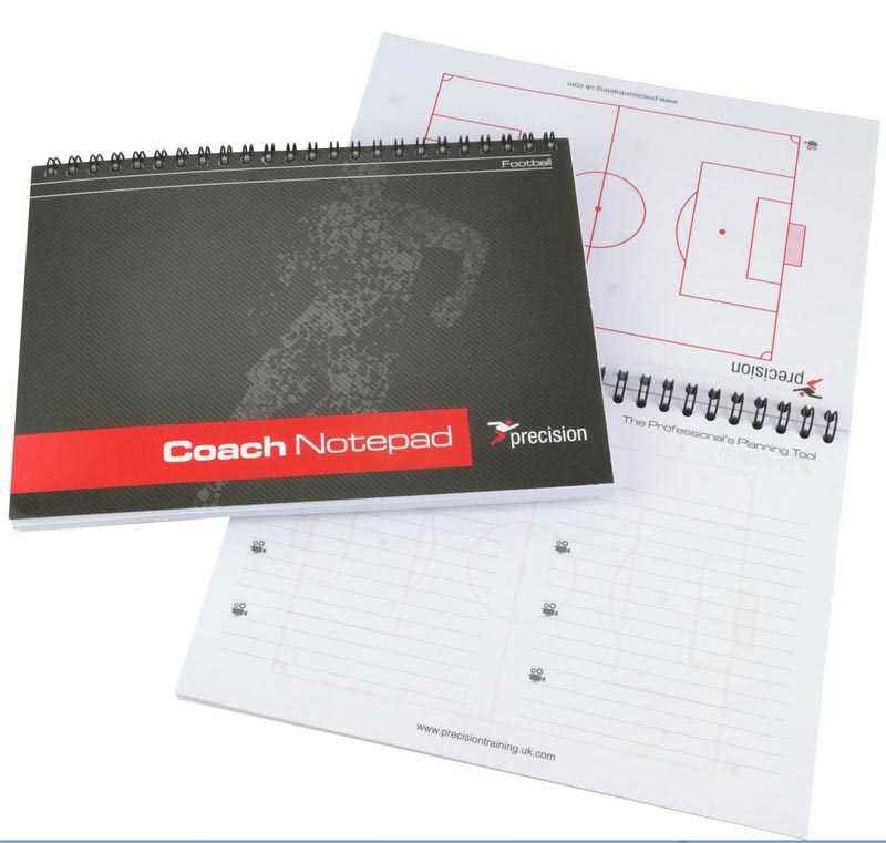 Precision Training A5 Football Notepad