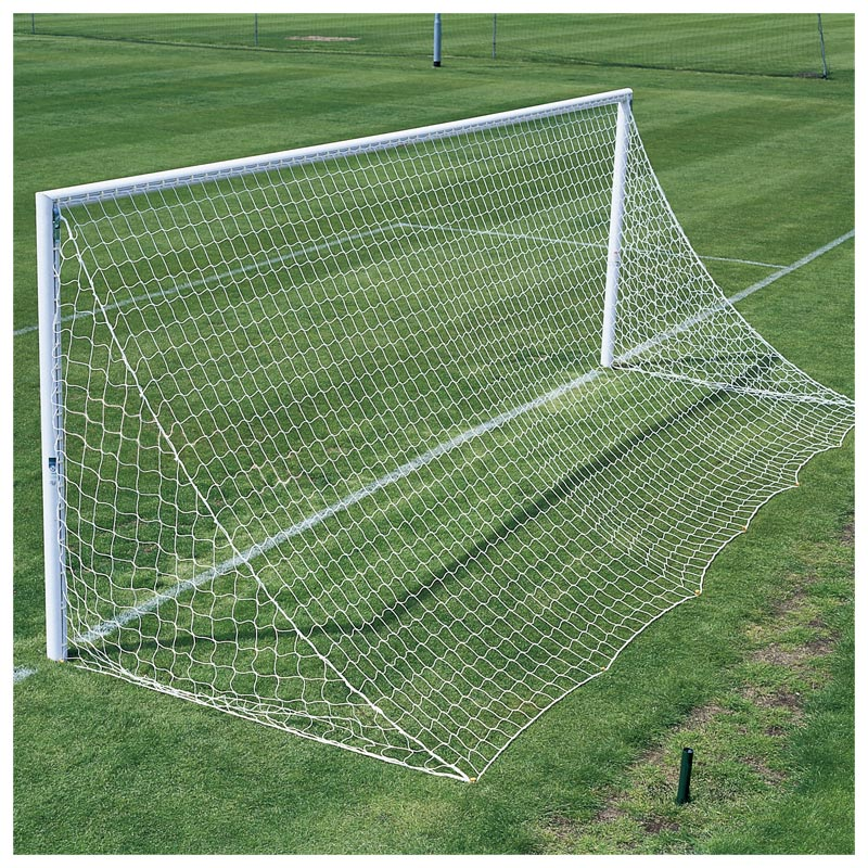 Harrod Sport 3G Lock Socketed Park Football Posts 24ft x 8ft