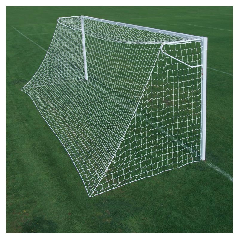 Harrod Sport 21ft x 7ft Socketed Steel Anti Vandal Football Posts