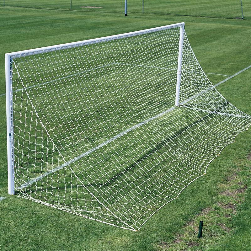 Harrod Sport Straight Back Profile Football Nets 24ft x 8ft